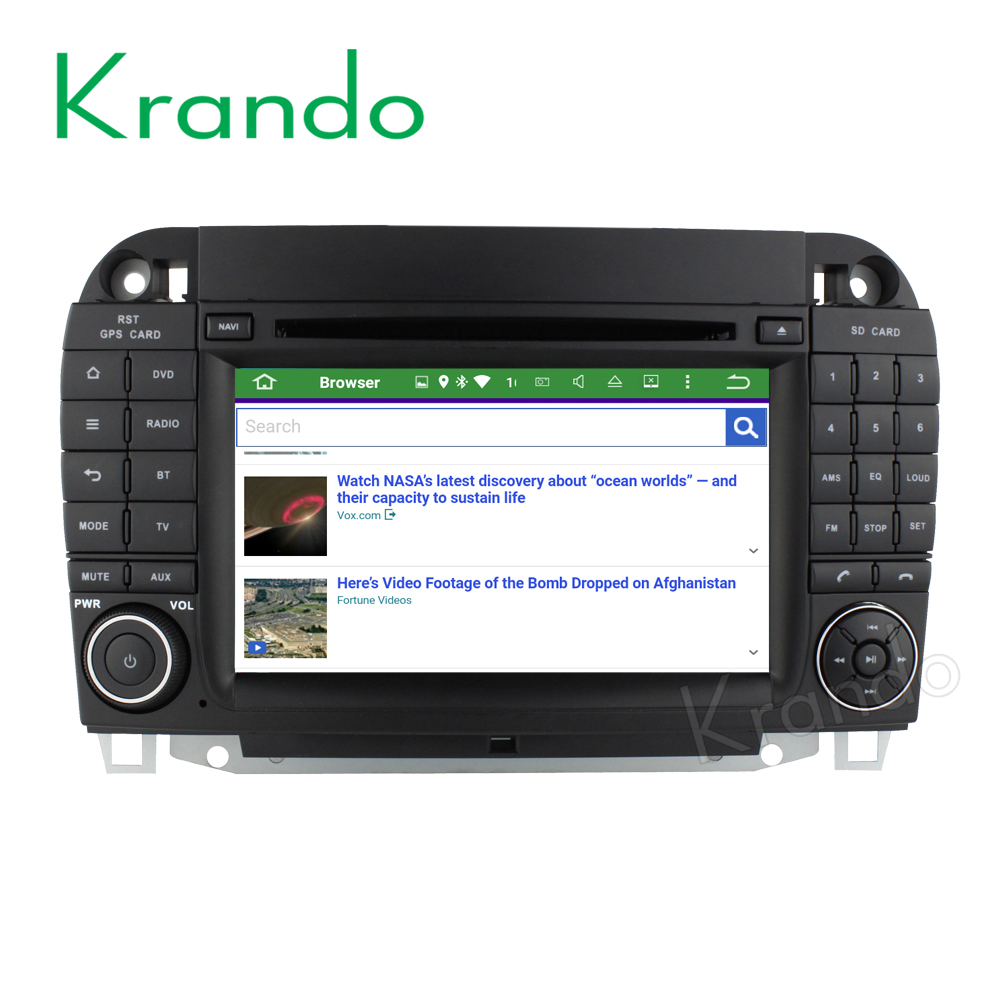 Android 51 Benz S Class W220 1998 2005 Kd Mb220 Krando Car Dvd S500 Radio Wiring